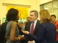 Gordon Brown School Visit